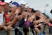 2010年 全英オープン初日 拍手