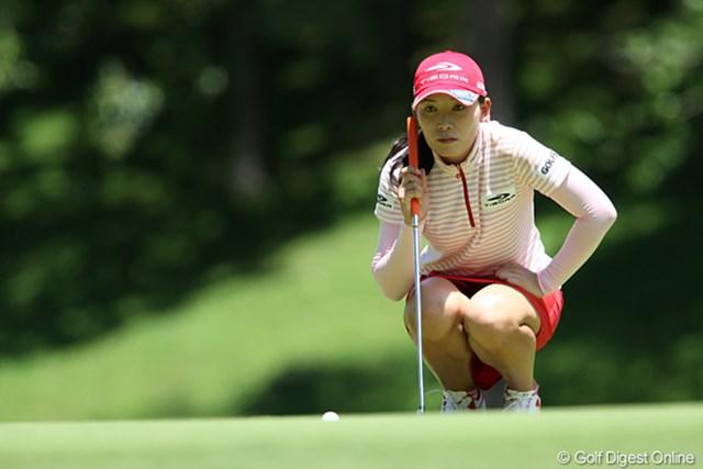 2010年 スタンレーレディスゴルフトーナメント 2日目 イム・ウナ 2日目のトップはこの人、66のスコアでイム・ウナ(韓国)。