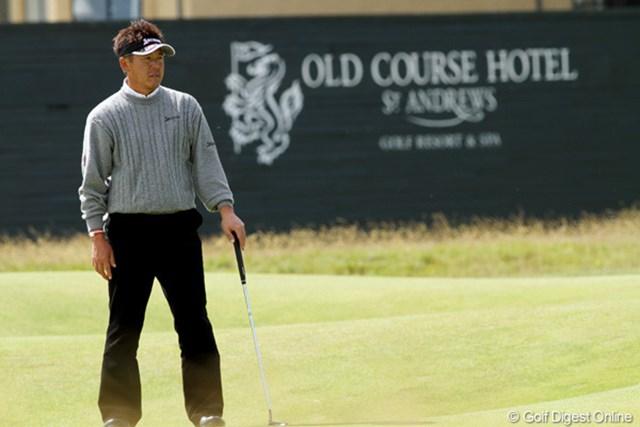 2010年 全英オープン 3日目 宮瀬博文 ぎりぎり突破の宮瀬は我慢のゴルフで1日をしのいだ