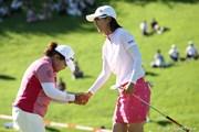 2010年 スタンレーレディスゴルフトーナメント最終日 アン・ソンジュ 李知姫