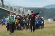 2010年 全英オープン最終日 歩く場所