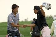 2010年長嶋茂雄 INVITATIONAL セガサミーカップゴルフトーナメント 2日目 額賀辰徳