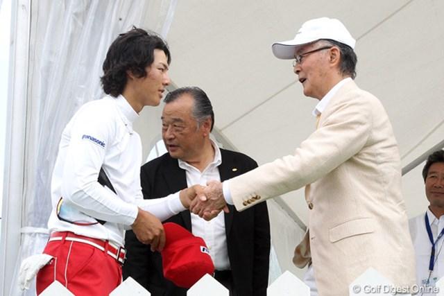 今年も、長嶋茂雄氏との18番グリーン上での対面は叶わなかった石川遼