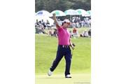 2010年長嶋茂雄 INVITATIONAL セガサミーカップゴルフトーナメント 最終日 チョ・ミンギュ