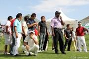 2010年長嶋茂雄 INVITATIONAL セガサミーカップゴルフトーナメント 最終日 仲間たち