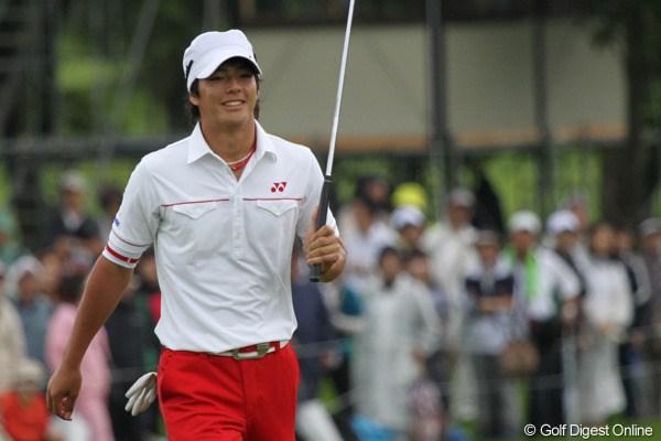 遼、3日目の再現ならず14位タイに終わる