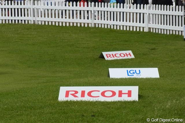 全英リコー女子オープンは、LGU(レディース・ゴルフユニオン)が主催
