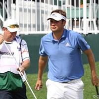 石川遼と2日間ラウンドしたオバートンは、マイペースにスコアを伸ばした 2010年 WGC ブリヂストンインビテーショナル 2日目 ジェフ・オバートン