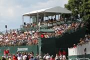 2010年 WGC ブリヂストンインビテーショナル 3日目 18番ギャラリースタンド