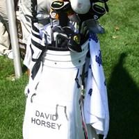 石川遼とラウンドしたホージー。英語では「horsey」なるほど、だから馬のヘッドカバーなのか 2010年 WGC ブリヂストンインビテーショナル 3日目 デビッド・ホージー