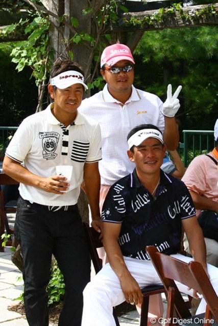 2010年 全米プロゴルフ選手権事前情報 藤田寛之、平塚哲二、小田孔明 戦いの前にホッと一息!観光気分はここまで。真剣モードは明日から?