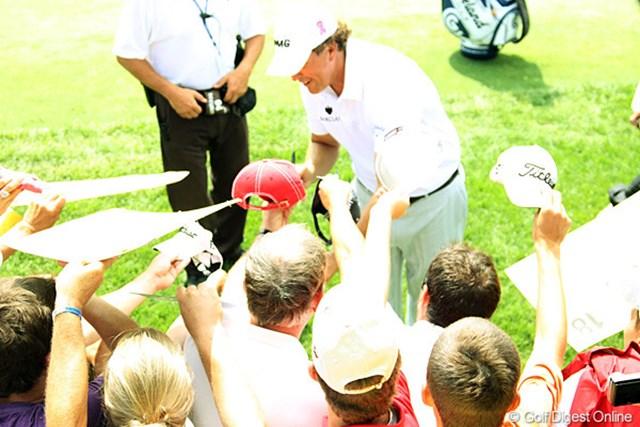 2010年 全米プロゴルフ選手権事前情報 フィル・ミケルソン 一番人気はミケルソン!今週で世界ナンバー1になれるのだろうか