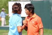 2010年 全米プロゴルフ選手権初日 石川遼&リッキー・ファウラー