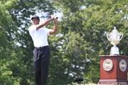 2010年 全米プロゴルフ選手権初日 タイガー・ウッズ