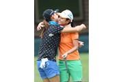 2010年 NEC軽井沢72ゴルフトーナメント初日 宮里藍&原江里菜