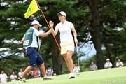 2010年 NEC軽井沢72ゴルフトーナメント初日 古閑美保