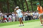 2010年 NEC軽井沢72ゴルフトーナメント初日 三塚優子