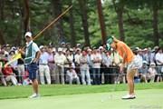 2010年 NEC軽井沢72ゴルフトーナメント初日 上田桃子