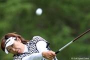 2010年 NEC軽井沢72ゴルフトーナメント初日 福嶋晃子