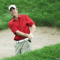 首位タイで18番を迎えたモルダーだが、アプローチで痛恨のミス 2010年 全米プロゴルフ選手権2日目 ブライス・モルダー