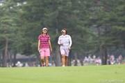 2010年 NEC軽井沢72ゴルフトーナメント2日目 福嶋晃子&李知姫
