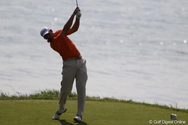 2010年 全米プロゴルフ選手権3日目 セルヒオ・ガルシア これで、しばらく見納め!早くゴルフをしたくなって戻ってきてね
