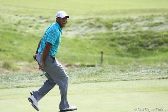 2010年 全米プロゴルフ選手権3日目 タイガー・ウッズ 激しいリアクションが戻ってきました!ぼちぼち全開!?