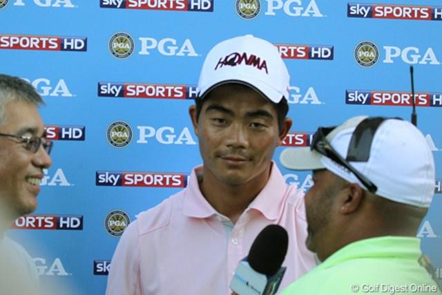 2010年 全米プロゴルフ選手権3日目 ウェンチョン・リャン 昨年のY.E.ヤン(韓国)に続くのは日本勢ではなく、中国のリャンか!?