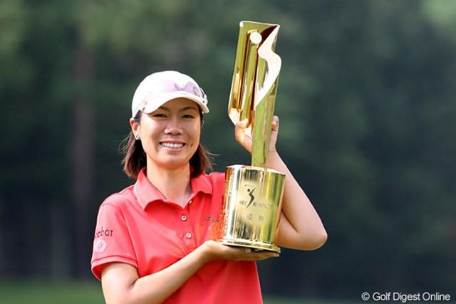 3日間ノーボギー、最後まで抜群の安定感を見せた李知姫が今季初勝利を飾った
