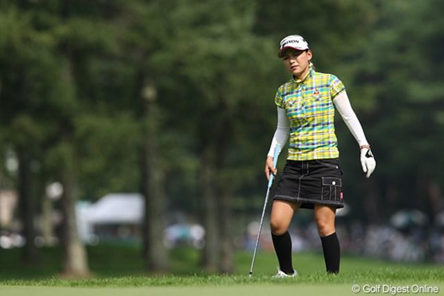 2010年 NEC軽井沢72ゴルフトーナメント最終日 横峯さくら 最終日に追い上げて8位タイ、納得のシーズン後半の滑り出しとなった横峯さくら