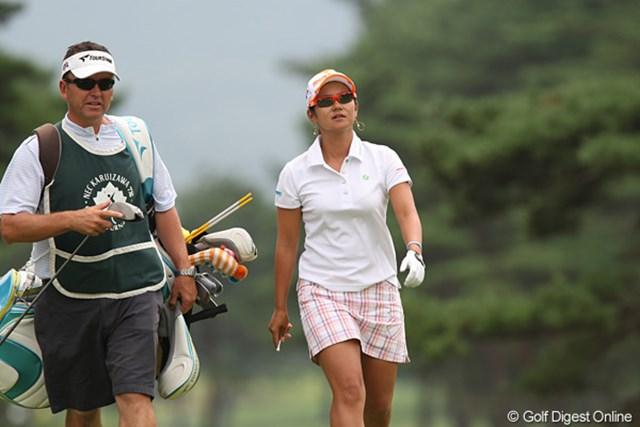 2010年 NEC軽井沢72ゴルフトーナメント最終日 宮里藍 久々の国内タイトルを逃すも、充実の表情を浮かべていた宮里藍