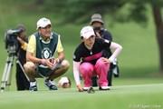 2010年 NEC軽井沢72ゴルフトーナメント最終日 有村智恵