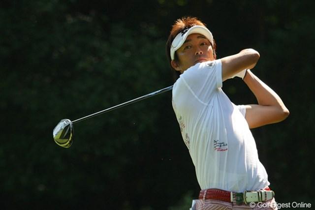 2010年 関西オープンゴルフ選手権競技初日 山下和宏 6バーディ、1ボギーの「65」をマーク!5アンダー単独首位発進とした山下和宏