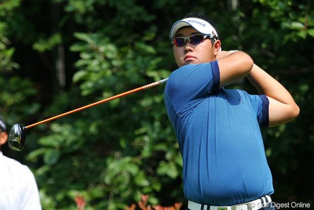 2010年 関西オープンゴルフ選手権競技初日 薗田峻輔 前半の13番で痛恨のトリ・・・。72位タイと出遅れた薗田峻輔