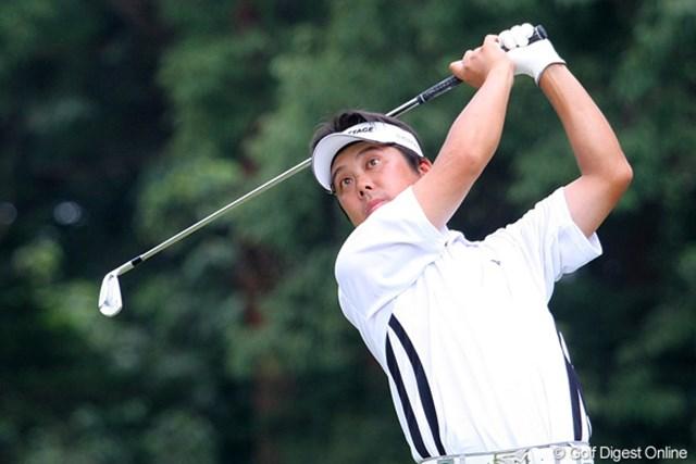 2010年 関西オープンゴルフ選手権競技3日目 野仲茂 ツアー初勝利なるか!? 今年40歳の野仲茂が1打差で最終日を迎える