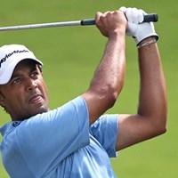 PGAツアー初制覇に王手をかけたインドのアージュン・アトワル(HunterMartin/Getty Images) 2010年 ウィンダム選手権3日目 アージュン・アトワル