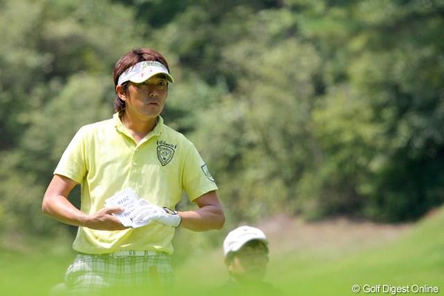 単独首位発進のアドバンテージを活かせず、山下和宏は4位タイに終わった
