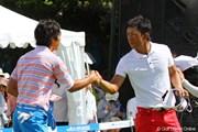 2010年 VanaH杯KBCオーガスタゴルフトーナメント 上井邦浩&石川遼