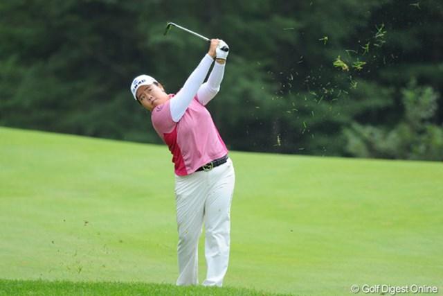 2010年 ニトリレディスゴルフトーナメント最終日 アン・ソンジュ きっちり69をマークして韓流パワーの底力を証明しました。5位