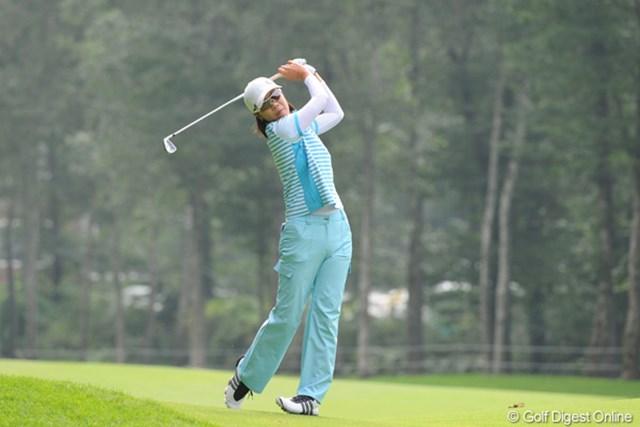 2010年 ニトリレディスゴルフトーナメント最終日 李知姫 韓流のアネキは面目躍如の69できっちりベスト10入り。後半戦に入って好調キープですなァ。