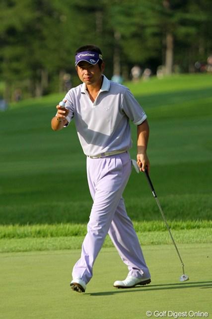2010年 フジサンケイクラシック初日 池田勇太 「調子は戻ってきている」という池田勇太はイーブンパーの29位タイ発進