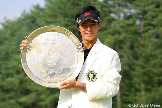 2010年 フジサンケイクラシック最終日 石川遼 薗田峻輔とのプレーオフを制し、自身初の大会連覇を果たした石川遼
