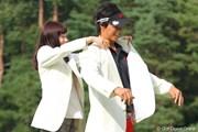 2010年 フジサンケイクラシック最終日 石川遼&本田朋子アナ