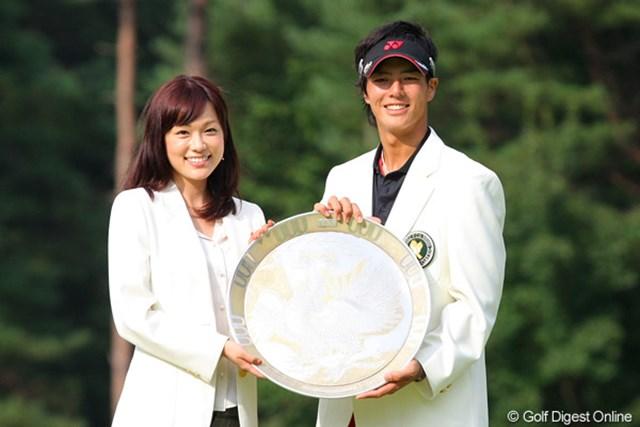 2010年 フジサンケイクラシック最終日 石川遼&本田朋子アナ 一緒に撮影もしちゃいました!