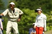 2010年 日本女子プロゴルフ選手権大会コニカミノルタ杯初日 中園美香