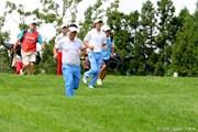 2010年 現代キャピタル招待 日韓プロゴルフ対抗戦初日 石川遼&薗田峻輔