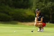 2010年 日本女子プロゴルフ選手権大会コニカミノルタ杯3日目 ニッキー・キャンベル