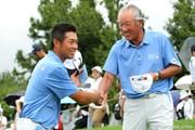 2010年 現代キャピタル招待 日韓プロゴルフ対抗戦2日目 青木功&池田勇太
