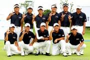 2010年 現代キャピタル招待 日韓プロゴルフ対抗戦最終日 日本代表