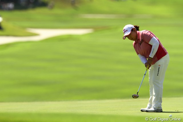 2010年 日本女子プロゴルフ選手権大会コニカミノルタ杯最終日 アン・ソンジュ 3位タイに入賞し、910万円をゲット!賞金女王レース独走中です。